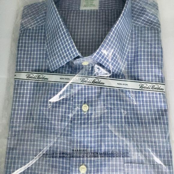 ba4f9e4ef8 Brooks Brothers Shirts   Noniron Slim Dress Shirt 17535   Poshmark